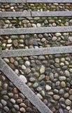 Wide pebbled Royalty Free Stock Photo