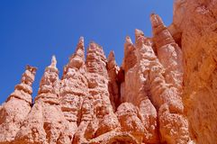 Bryce Canyon National Park Utah. Wide picture of hoodoos at Bryce Canyon National Park in Utah royalty free stock image