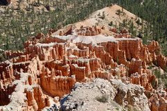 Bryce Canyon National Park Utah. Wide picture of hoodoos at Bryce Canyon National Park in Utah Royalty Free Stock Photos