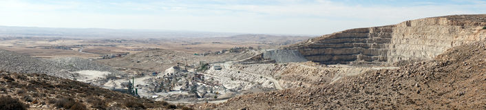 Wide quarry Stock Photography