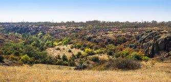 Wide quarry wiev Royalty Free Stock Photos