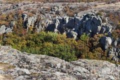 Wide quarry wiev Stock Photos