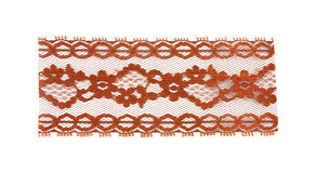 Wide red lace Stock Photography