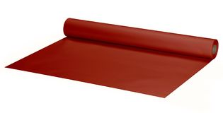Wide red roll Stock Images