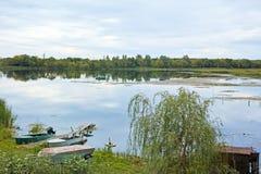 Wide river Stock Photos