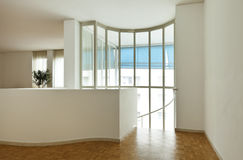 Wide room with large window Stock Image