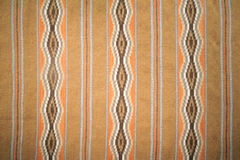 Wide Ruins Rug. The close-up of Wide Ruins Rug of North American Indian Stock Photography