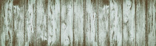 Wide rustic vintage background of shabby aged wooden planks royalty free stock photos