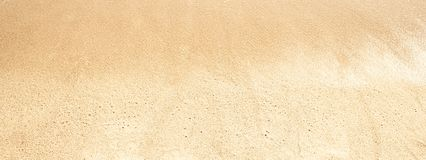 Wide Sand   Background. Soft wave on sandy beach. Summer concept royalty free stock photo