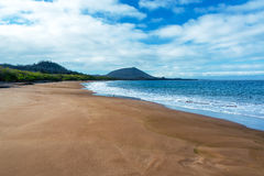Wide Sandy Beach Royalty Free Stock Images