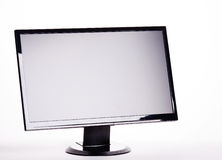 Wide Screen Computer Monitor Royalty Free Stock Photo