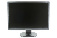 Wide screen LCD monitor Stock Photos