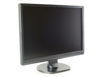 Wide screen LCD monitor Royalty Free Stock Image