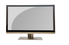 Wide screen monitor Stock Photography