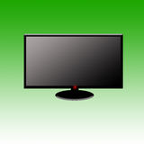 Wide screen TV Stock Images
