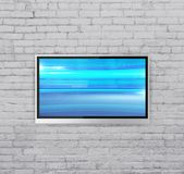 Wide screen TV Royalty Free Stock Photos