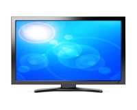 Wide screen tv Royalty Free Stock Image