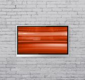 Wide screen TV Royalty Free Stock Photography