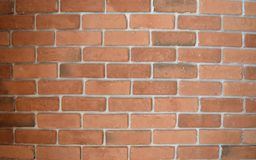 Wide screenshot of brick rough wall artwork. In construction work process for building or home Stock Photo