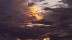 A shot of dusk sky. A wide shot of dawn. Tilting shot upward to show the sky stock video footage