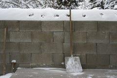 Wide shovel Stock Images