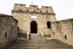 Wide Staircase at Great Wall Royalty Free Stock Images
