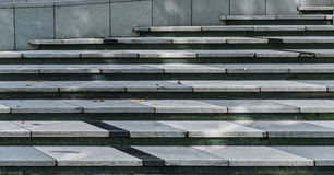 WIde stone stairway often seen on building Royalty Free Stock Photography