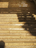 Wide stone stairway Royalty Free Stock Photo