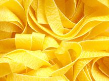 Wide Tagliatelle Royalty Free Stock Photo