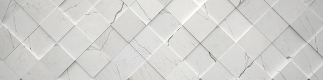 Wide Tiled Marble Backdrop Stock Image