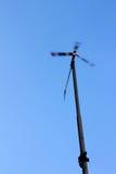 Wide Turbine Alternative energy Stock Photo