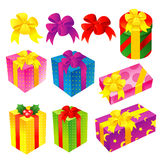 A wide variety of Gifts Icons sets. Creative Icon Design Series. Royalty Free Stock Photography