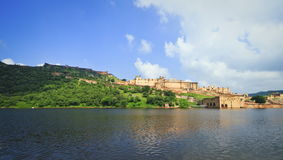 Wide View Of Amber Fort Royalty Free Stock Images