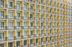 Wide view balcony in horizontal Royalty Free Stock Images