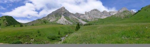 Wide view of Dolomiti Stock Image