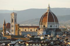 View of florence Italy Stock Photography