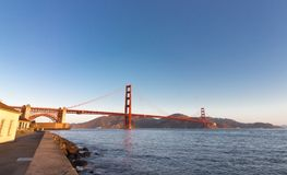 The Golden Gate Bridge. Royalty Free Stock Photography