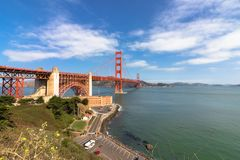 The Golden Gate Bridge. Royalty Free Stock Images