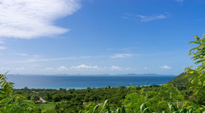 Wide view from koh larn it so beautiful Stock Photo