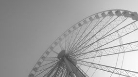 Wide view of a large ferris wheel Royalty Free Stock Image