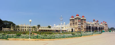 Wide View Of Mysore Place,India. Wide View Of The Palace Of Mysore in India Royalty Free Stock Photography