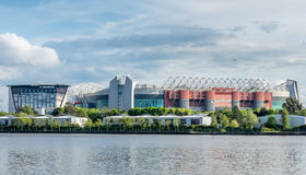 Wide view of Old Trafford stadium