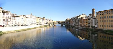 Ponte Vecchio of Florence Italy Royalty Free Stock Photos