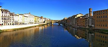 Ponte Vecchio of Florence Italy Stock Photography