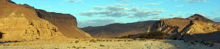 Wide wadi Stock Photo