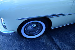 Wide whitewall tires Stock Photography