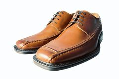 Wideangle shoes Royalty Free Stock Image