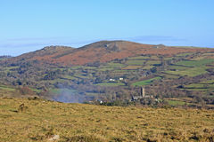 Widecombe-in-d-machen Sie, Dartmoor fest lizenzfreies stockbild