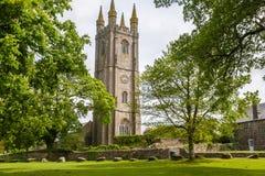 Widecombe dans l'amarrage Dartmoor Photographie stock libre de droits