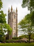 Widecombe i heden Dartmoor Arkivbilder